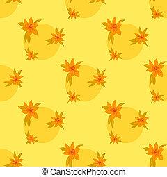 Flower background, seamless