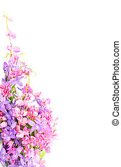 flower background - Summer flowers background, beautiful ...