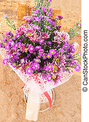 flower bouquet on background photography