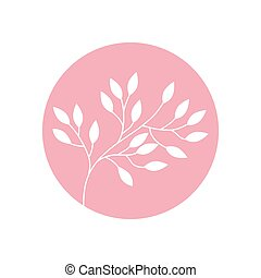 flower branch natural icon