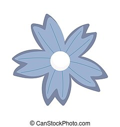 flower decoration ornament isolated icon style
