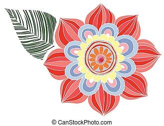 Flower Doodle Vector