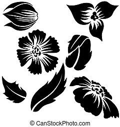 Flower elements A