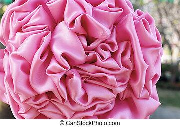 flower fabric background.