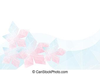 flower geometric background