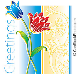 Flower Greetings design