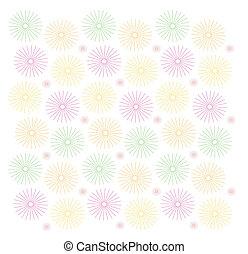 Flower hell pattern