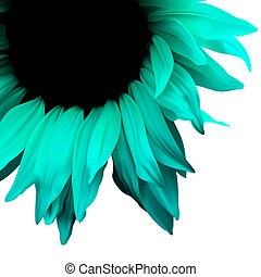 Flower illustration background