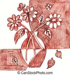 Flower kompazotsiya