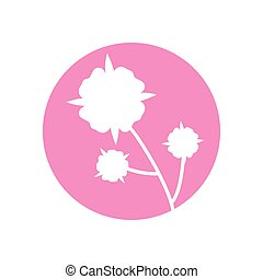 flower leaves natural icon