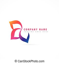 flower logo design template