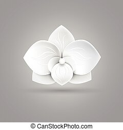 flower logo icon vector