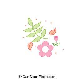 flower love icon