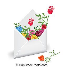 Flower mail