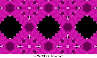 flower mosaics pattern background,music stage background.