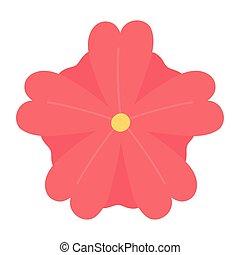 flower nature decoration isolated design icon style