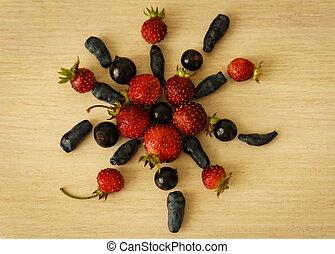 Flower of berries