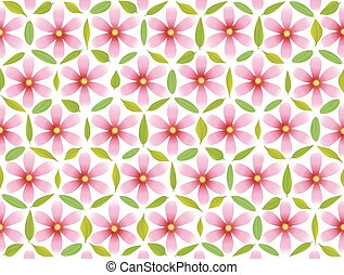 Flower of Life Pattern Pink