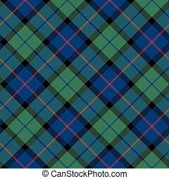 flower of scotland tartan seamless diagonal pattern fabric ...