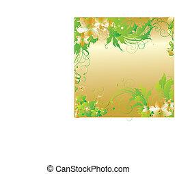 Flower ornament