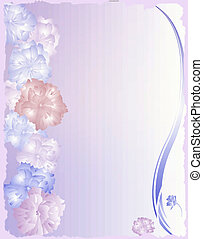 flower paper background stationary
