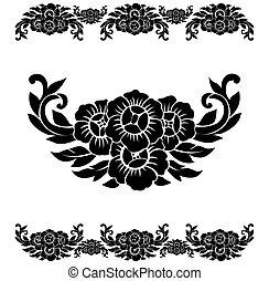 Flower Pattern Decoration