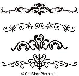 flower pattern - illustration drawing of flower pattern in a...