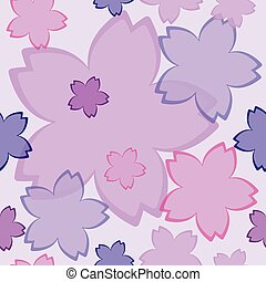 Flower pattern spring background