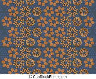 flower pattern vector art