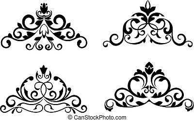 Flower patterns - Floral patterns and borders for design and...