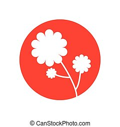 flower plant natural icon