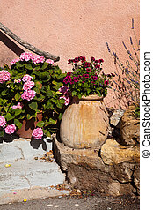 Flower pot in Provence