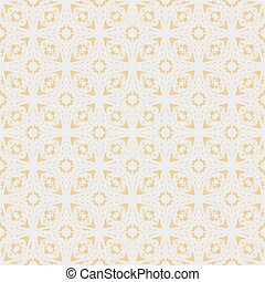 Flower sakura seamless pattern on peach color background