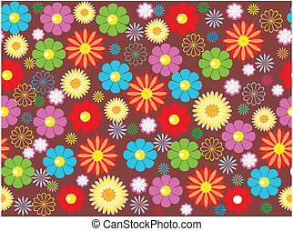 flower seamless background design