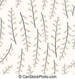 Flower seamless pattern background. Vector illustration.