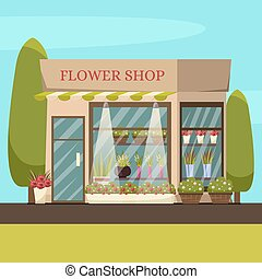 Flower Shop Background