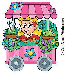 Flower shop theme image 1