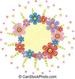 Flower sketch icon - Stock Vector Illustration: Flower...