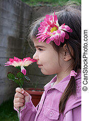 Flower Smelling
