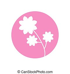flower spring natural icon