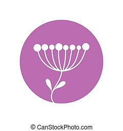 flower sprout natural icon