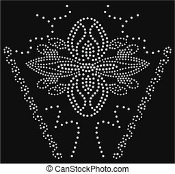 Flower Stone bead artwork collection