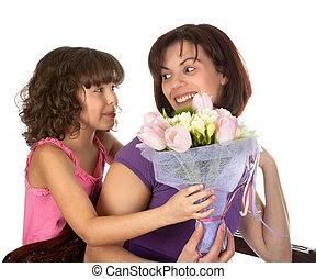 Flower suprise for mother