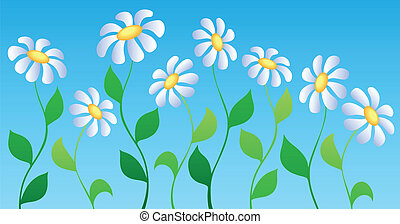 Flower theme image 2