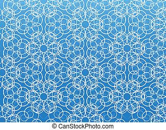 Flower vector pattern.