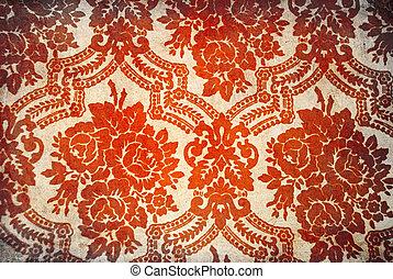 Flower vintage wallpaper for background