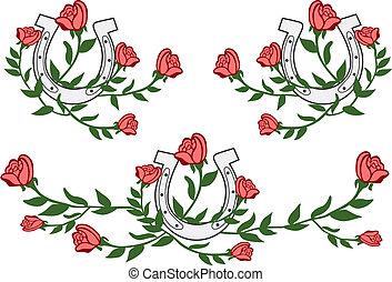 flower wild west graphic