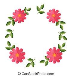 flower wreath floral