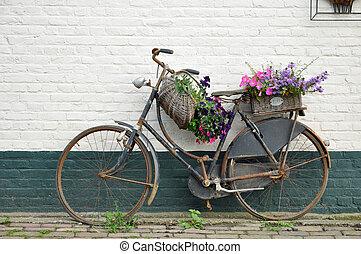 Flowered bike