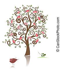 flowering ornamental tree